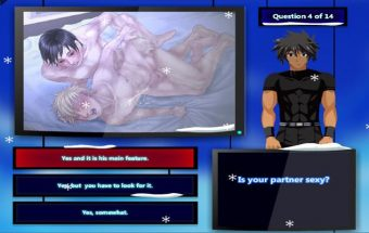 Yaoi gay hentai quiz game