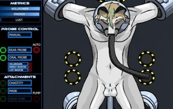 Gay furry futuristic BDSM sex game