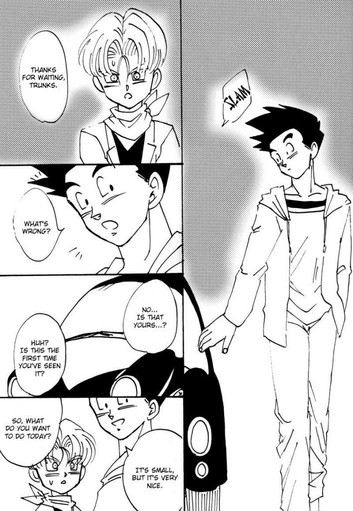 Dragon Ball Z parody Yaoi