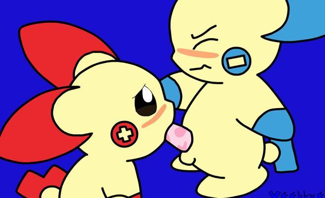 Pokemon sex animation plus sucks minus cock