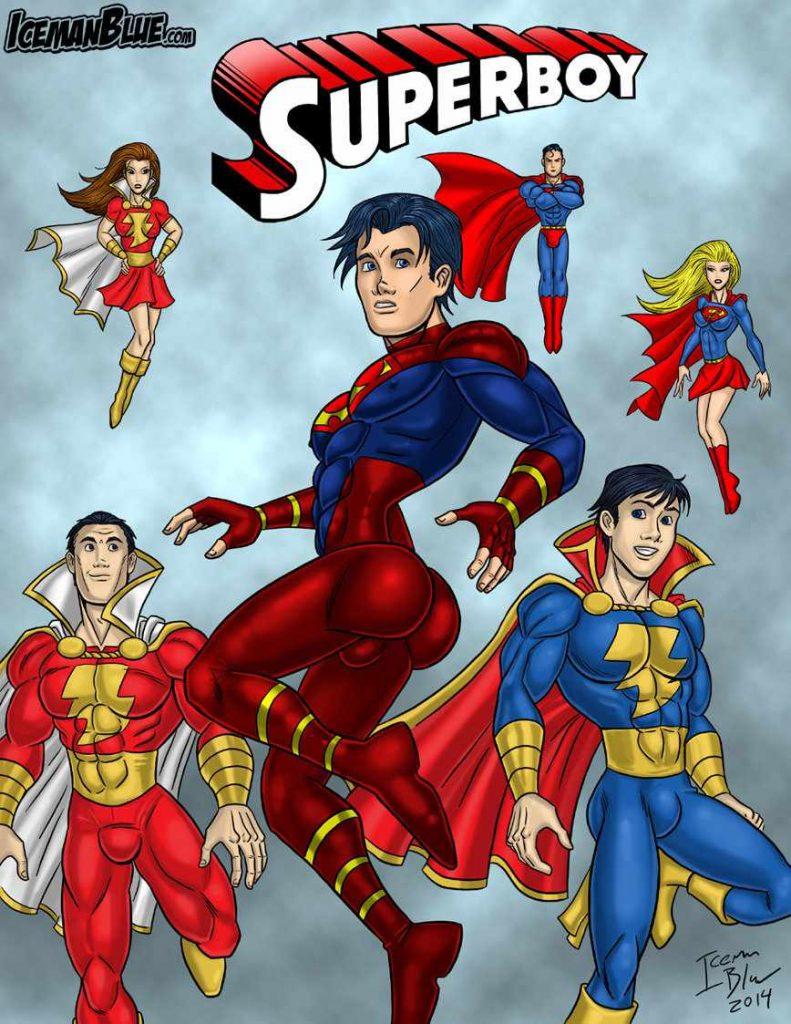 Superboy Yaoi doujinshi Manga