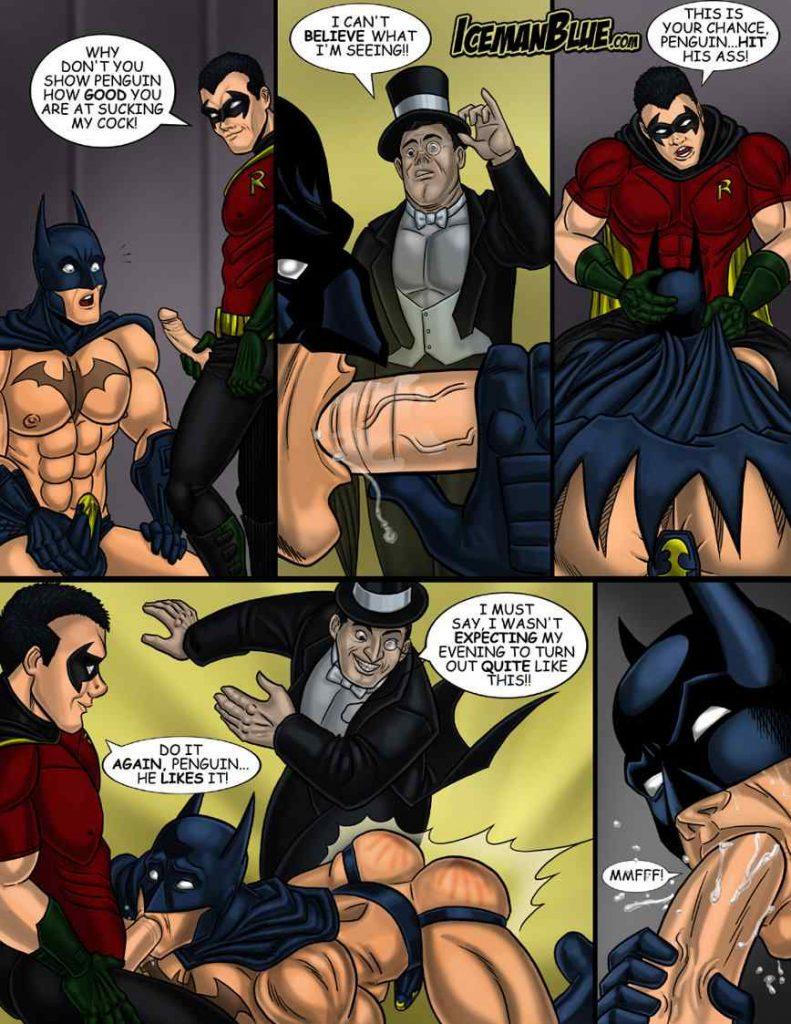 Batman Yaoi doujinshi manga