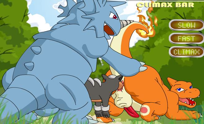 Charmeleon is banged bareback and creampied