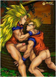 dragon ball z yaoi