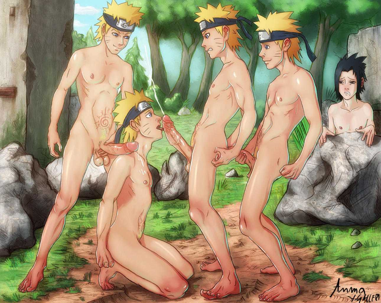 Naruto shippuden boys naked, young girl fantises